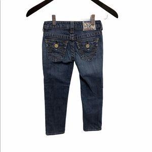 True Religion Julie straight leg Jeans size 6